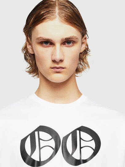 Diesel - TEORIALE-X2, Bianco - T-Shirts - Image 3