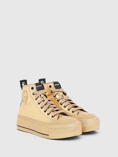 Diesel - S-ASTICO MC WEDGE, Oro - Sneakers - Image 2
