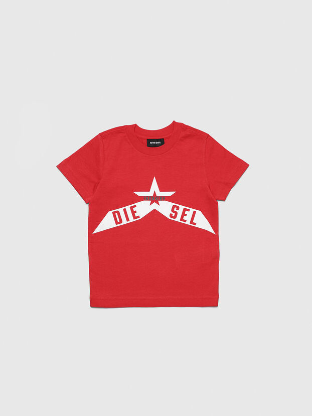 TDIEGOA7B-R, Rosso - T-shirts e Tops