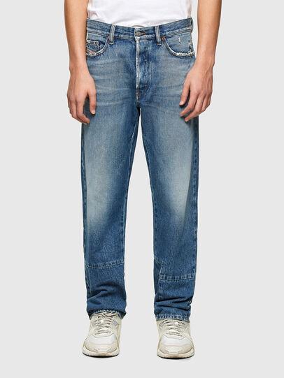 Diesel - D-Macs 009PI, Blu medio - Jeans - Image 1