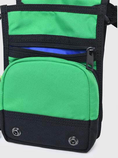 Diesel - ANKO WP, Verde/Blu - Borse a tracolla - Image 5