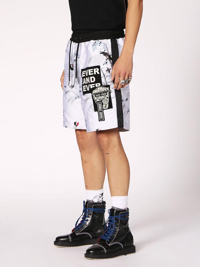 Diesel - P-GROUND, Bianco - Shorts - Image 3