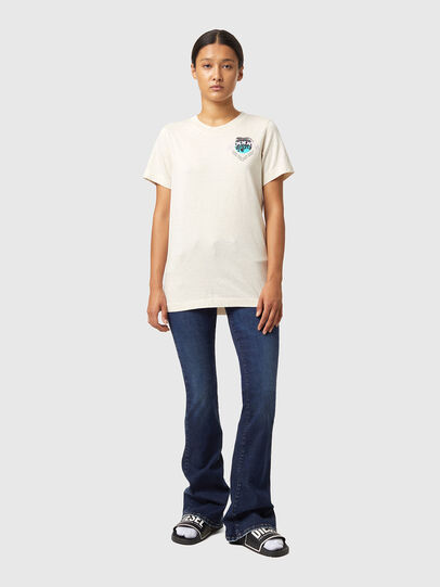 Diesel - T-LILLY-B1, Bianco - T-Shirts - Image 4