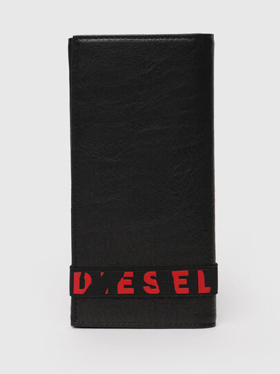 Diesel - 24 A DAY, Nero - Portafogli Continental - Image 1
