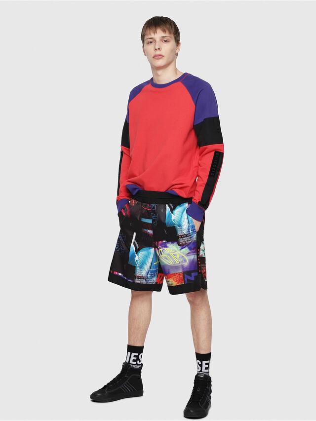 Diesel - P-KUMI-PRINT, Multicolor/Nero - Shorts - Image 5