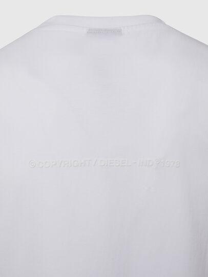 Diesel - T-TUBOLAR-X20, Bianco - T-Shirts - Image 4