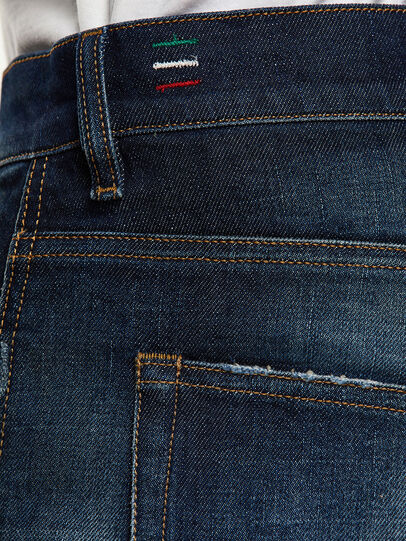 Diesel - D-Vider 0092I, Blu Scuro - Jeans - Image 5