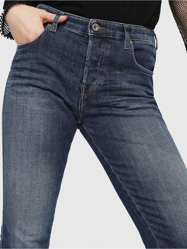 Diesel - Babhila 081AI, Blu Scuro - Jeans - Image 3