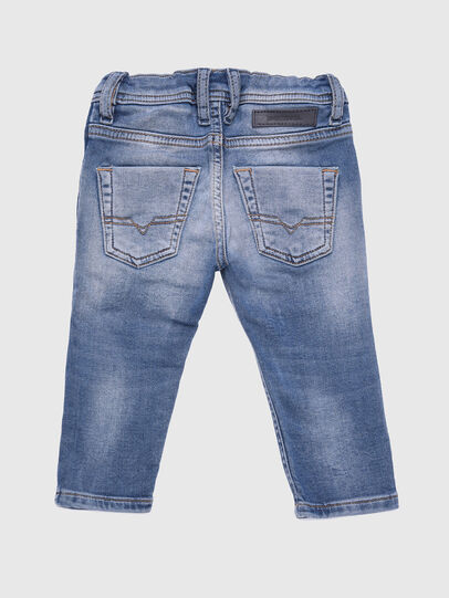 Diesel - KROOLEY-B-N JOGGJEANS, Blu Chiaro - Jeans - Image 2