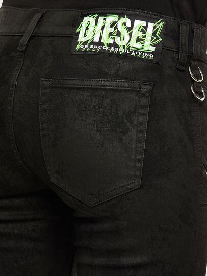 Diesel - Slandy 069NG, Nero/Grigio scuro - Jeans - Image 5
