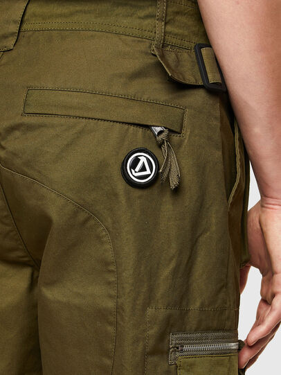Diesel - P-CYAN-SHORT, Verde Militare - Shorts - Image 3