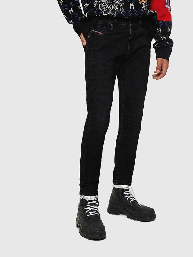 D-Strukt 0091I, Nero/Grigio scuro - Jeans