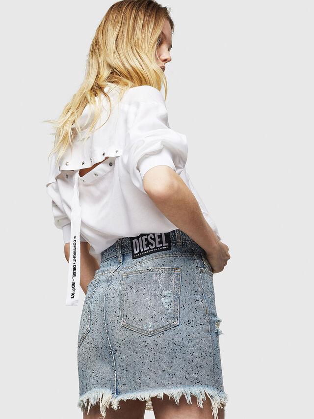Diesel - DE-ELLE-S, Blu Jeans - Gonne - Image 5