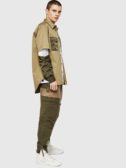 Diesel - S-KOSOV, Verde Militare - Camicie - Image 5