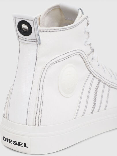 Diesel - S-ASTICO MID LACE, Bianco - Sneakers - Image 4