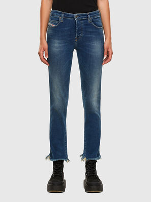 Babhila-Zip 009EZ, Blu medio - Jeans