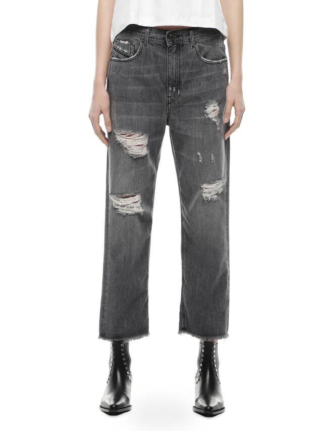 Diesel - TYPE-1815-RE, Grigio Jeans - Jeans - Image 1