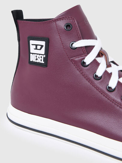Diesel - S-ASTICO MID CUT, Viola Scuro - Sneakers - Image 4