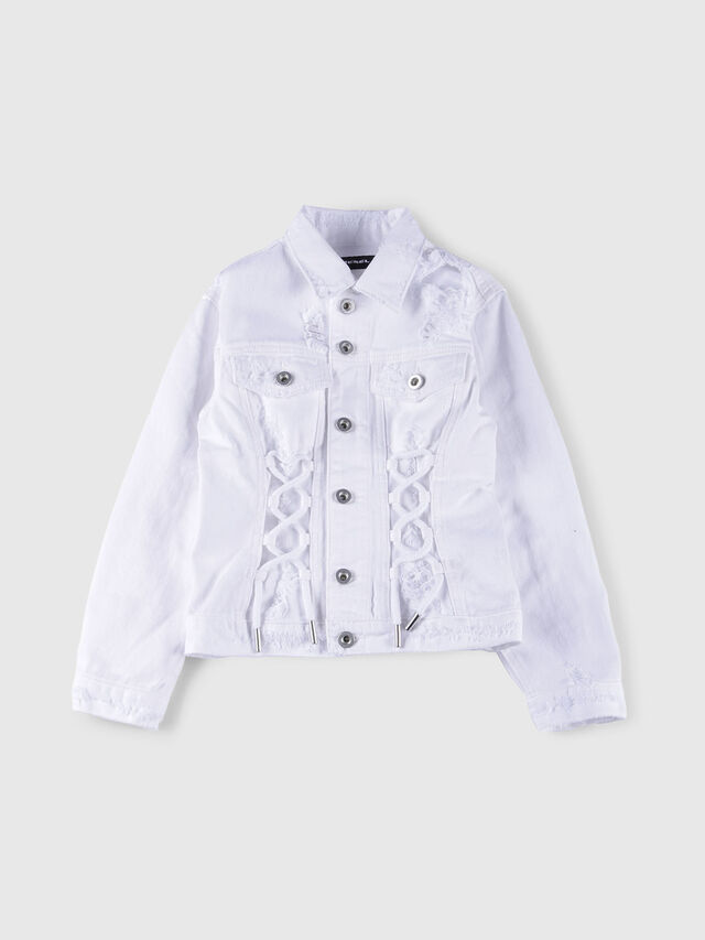 Diesel - JEOCYD, Bianco Jeans - Giacche - Image 1