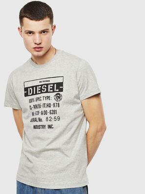 T-DIEGO-S1, Grigio - T-Shirts