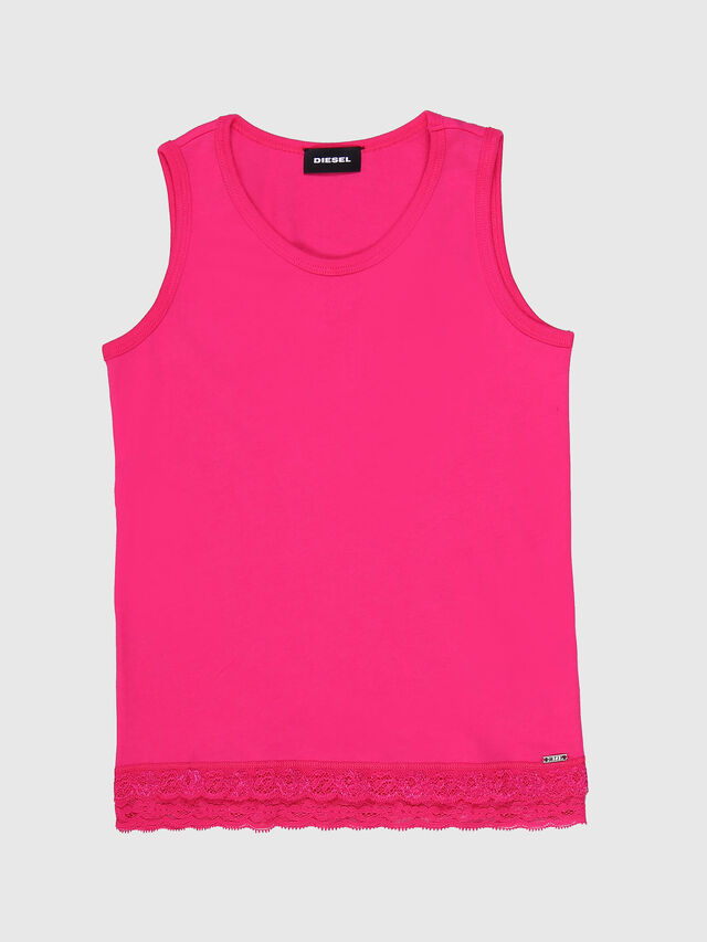 Diesel - TAPUL, Fucsia - T-shirts e Tops - Image 1