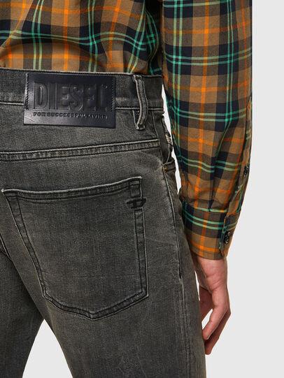 Diesel - D-Fining 09A73, Nero/Grigio scuro - Jeans - Image 3