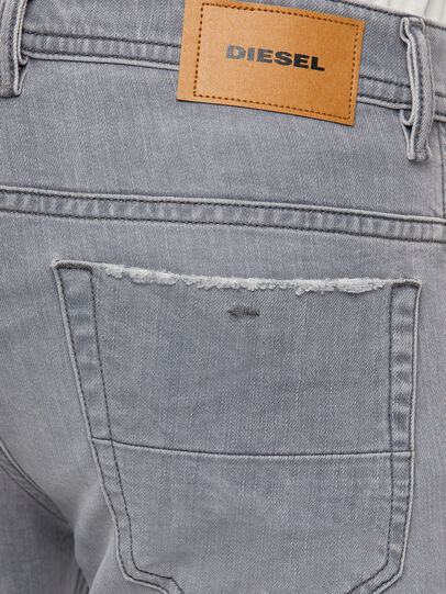 Diesel - Thommer 009DC, Grigio Chiaro - Jeans - Image 4