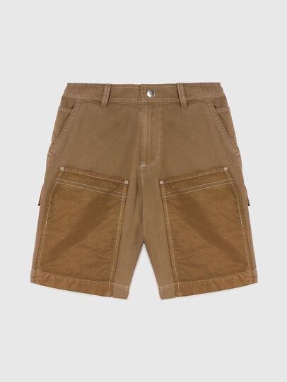 Diesel - PTRENTSHORT, Marrone - Shorts - Image 1
