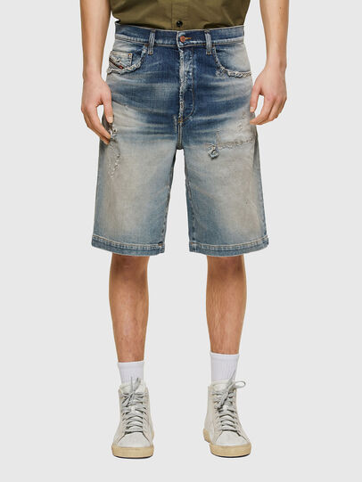 Diesel - D-MACS-SHORT, Blu Chiaro - Shorts - Image 1