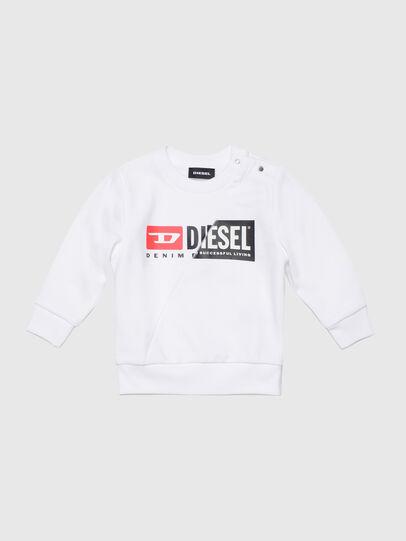 Diesel - SGIRKCUTYB, Bianco - Felpe - Image 1