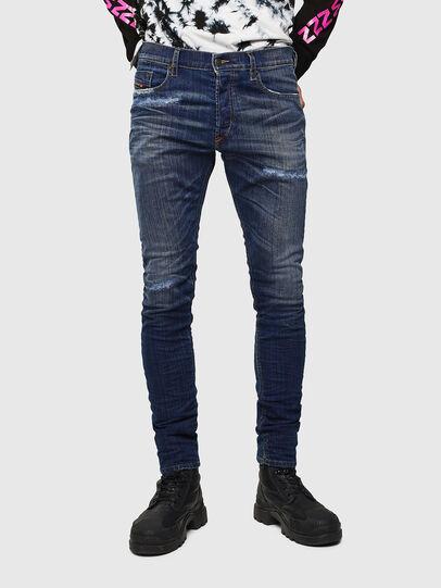 Diesel - Tepphar 0098N, Blu Scuro - Jeans - Image 1
