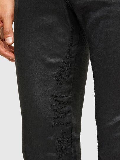 Diesel - D-Reeft JoggJeans® 069TE, Nero/Grigio scuro - Jeans - Image 5