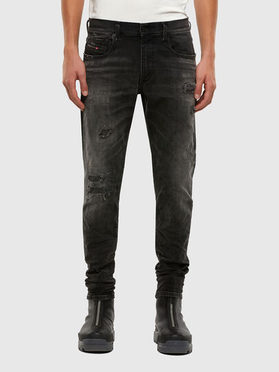 Diesel - D-Strukt 069RC, Nero/Grigio scuro - Jeans - Image 1