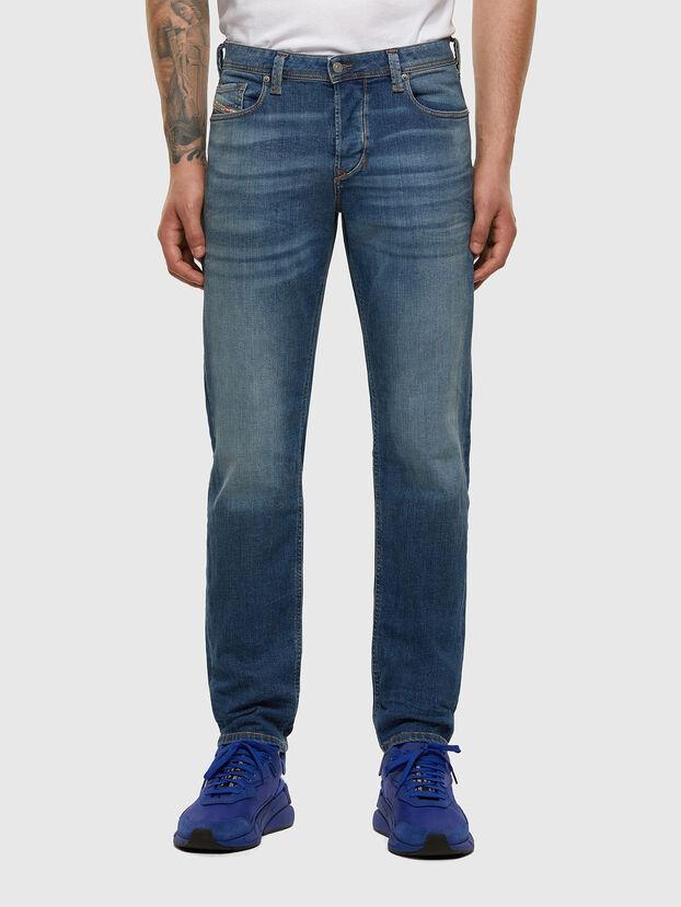 Larkee-Beex 009DB, Blu medio - Jeans