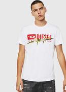 T-DIEGO-BX2, Bianco - T-Shirts
