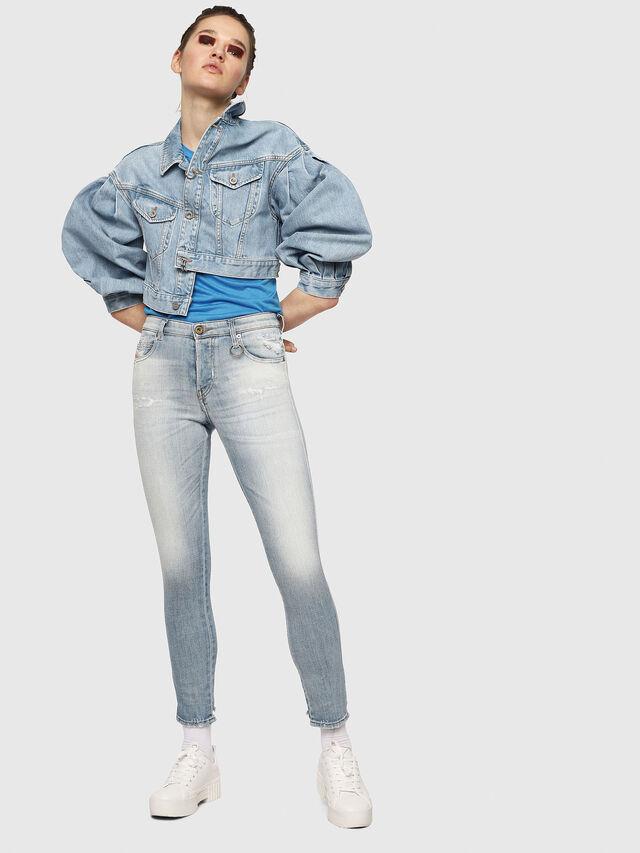 Diesel - Babhila 081AJ, Blu Chiaro - Jeans - Image 4
