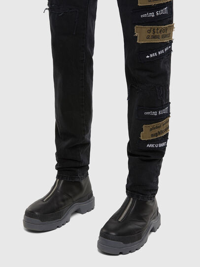 Diesel - D-Kras 009KW, Blu Scuro - Jeans - Image 6