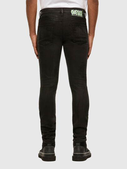 Diesel - D-Strukt JoggJeans 009GH, Nero/Grigio scuro - Jeans - Image 2