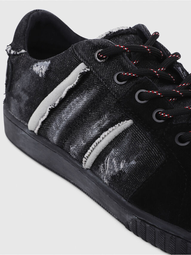 Diesel - S-MILLENIUM LC, Nero - Sneakers - Image 4