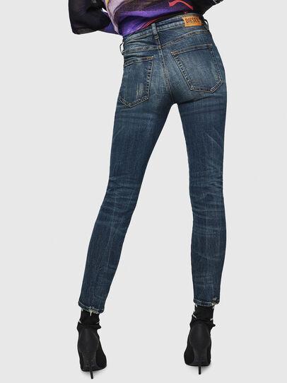 Diesel - Babhila 069GC, Blu Scuro - Jeans - Image 2