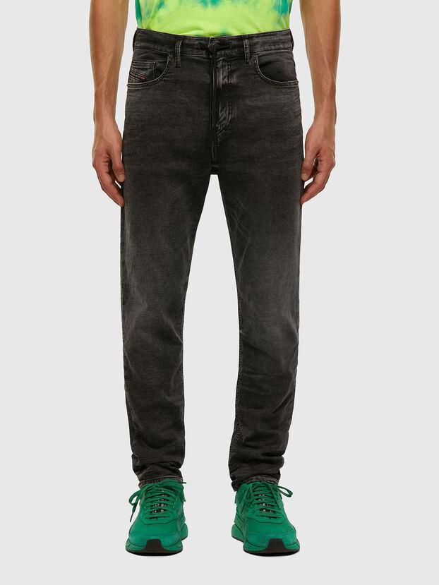 D-Vider JoggJeans 009FZ, Nero/Grigio scuro - Jeans