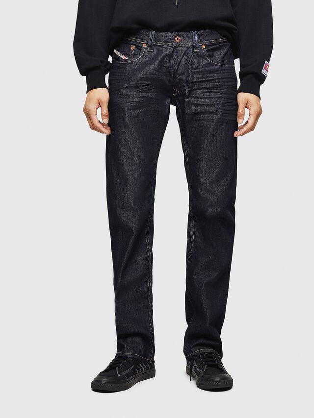 Diesel Larkee 084HN, Blu Scuro - Jeans - Image 1