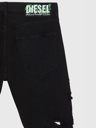 Diesel - D-KRASY, Nero - Shorts - Image 4
