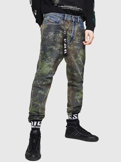 Diesel - D-Vider 0078E, Blu medio - Jeans - Image 1