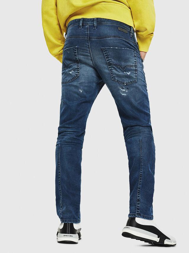 Diesel - Krooley JoggJeans 069HA, Blu medio - Jeans - Image 2