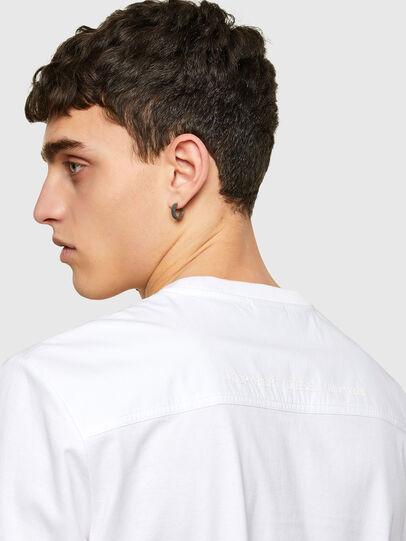 Diesel - T-WORKAN, Bianco - T-Shirts - Image 4