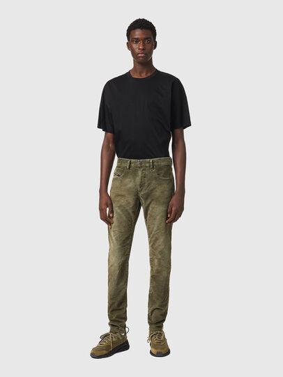 Diesel - D-Strukt 069XQ, Verde Militare - Jeans - Image 5