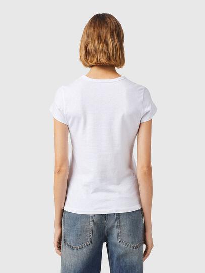 Diesel - T-SLICUP-B3, Bianco - T-Shirts - Image 2