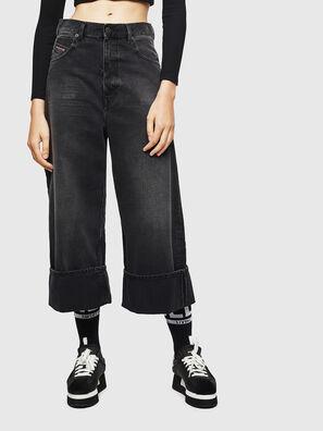 D-Luite 083AK, Nero/Grigio scuro - Jeans