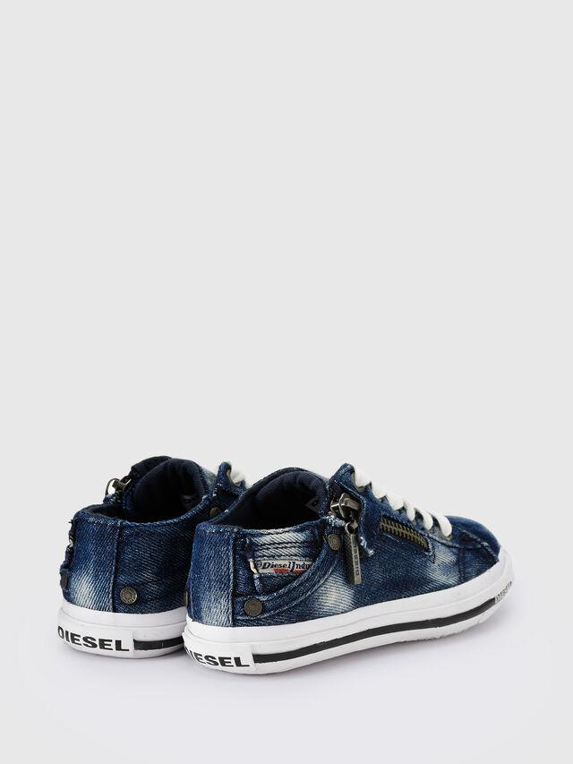 KIDS SN LOW 25 DENIM EXPO, Blu Jeans - Scarpe - Image 3